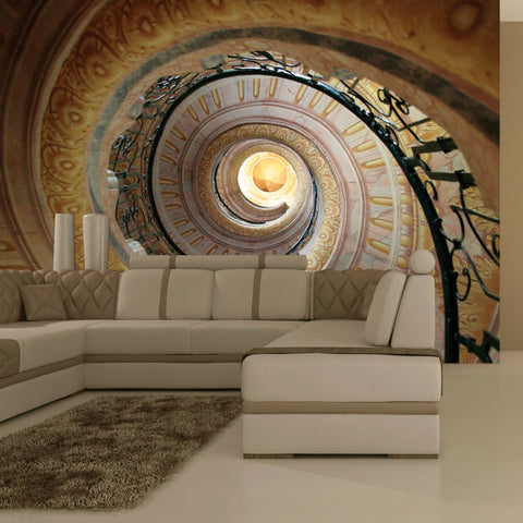 Wallpaper - Decorative spiral stairs