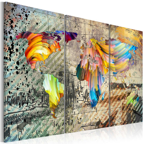 Canvas Print - World Full Of Colours