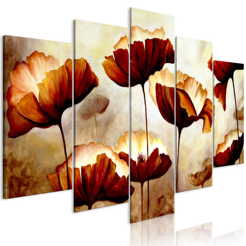 Canvas Print - High Summer (5 Parts) Wide