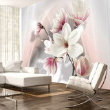 Wallpaper - White magnolias