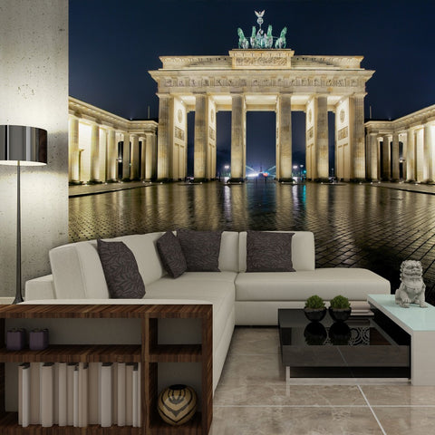 Wallpaper - Brandenburg Gate at night