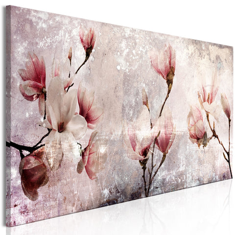 Canvas Print - Magnolia Charm (1 Part) Narrow