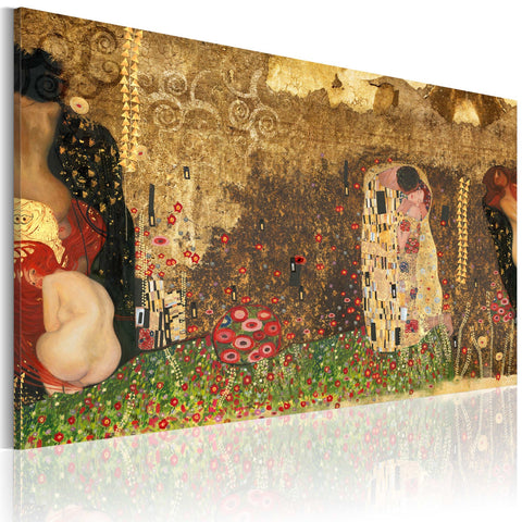 Canvas Print - Gustav Klimt - inspiration