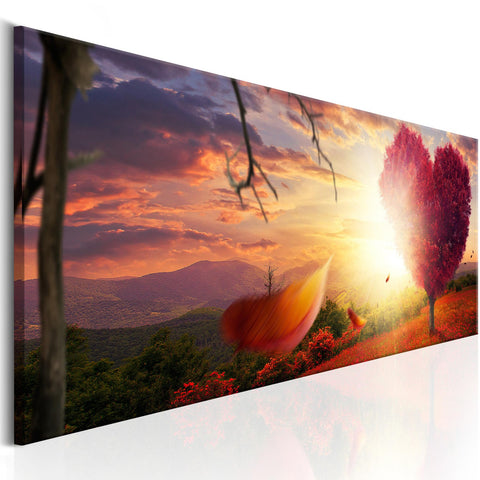 Canvas Print - Autumnal Heart