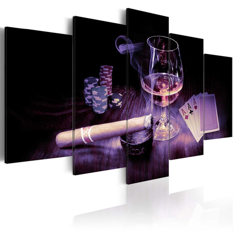 Canvas Print - Men's entertainment