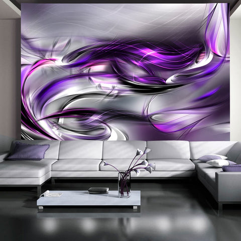 Wallpaper - Purple Swirls