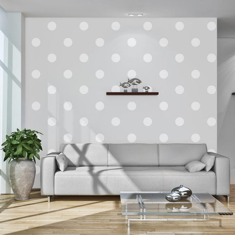 Wallpaper - Cheerful polka dots
