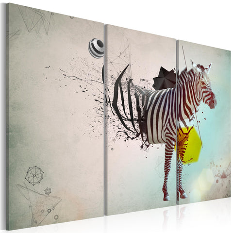 Canvas Print - zebra - abstract