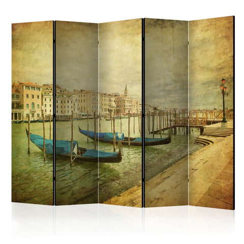 Room Divider - Grand Canal, Venice (Vintage) II [Room Dividers]