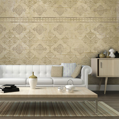 Wallpaper - Faded baroque wallpaper