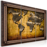 Canvas Print - The World in a Frame