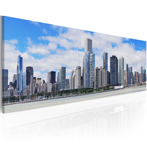 Canvas Print - Big city - big hopes