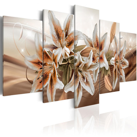 Canvas Print - Brown Graces