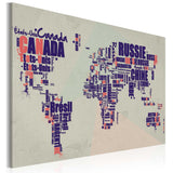 Canvas Print - French travel