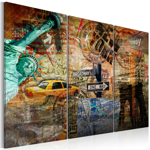 Canvas Print - The essence of NYC