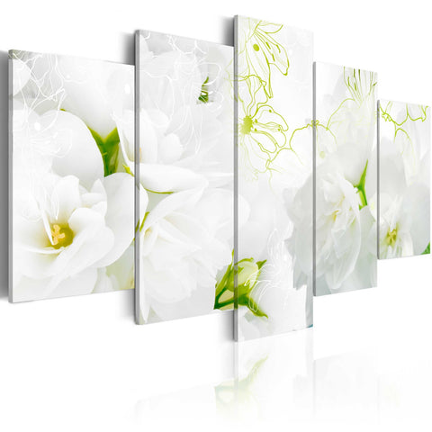 Canvas Print - Natural white