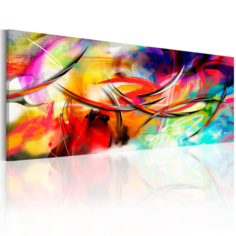 Canvas Print - Dance of the rainbow