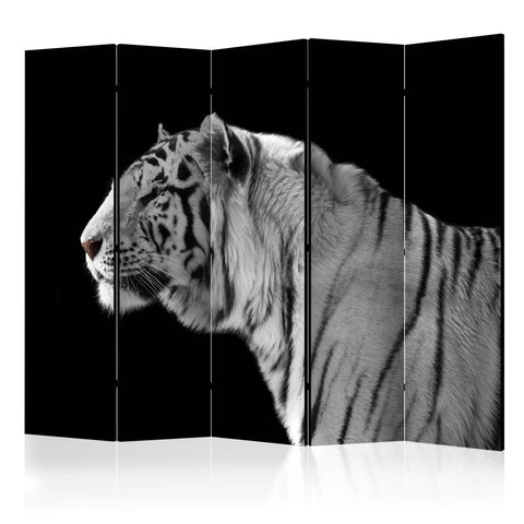 Room Divider - White tiger II [Room Dividers]