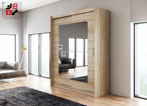 AVA 12.3 - 2 Sliding door wardrobe with the best separator shelf system >180x218cm<