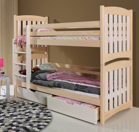 SERAFIN - Safety and well built children bunk bed - Wardrobe-Bunk-Bed-Sofa