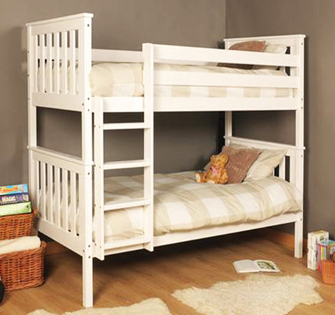 SERGIO - Just great quality natural wood bunk bed