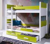 ROZALIA - Extremely solid children Bunk Bed with drawer