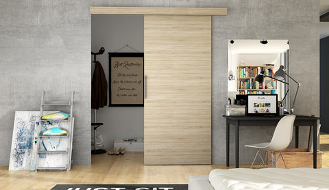 ETNA 1 - Modern Suspended Sliding Door, save space in your room or use for a walk in wardrobe