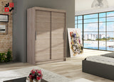 VEGAS I - 2 sliding door wardrobe