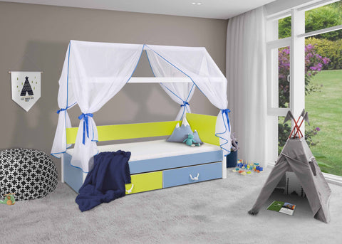 OLLIE - Unique Bed with Lovely Canopy - a lot of fun for your kids NEW COLLECTION