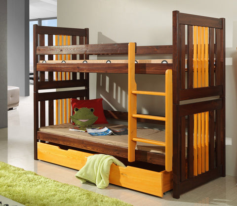 CORNEL - Safety and well built bunk bed with drawers - Wardrobe-Bunk-Bed-Sofa - 1