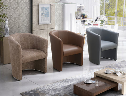 BONNY - Modern Armchair for your living room. Various Colours