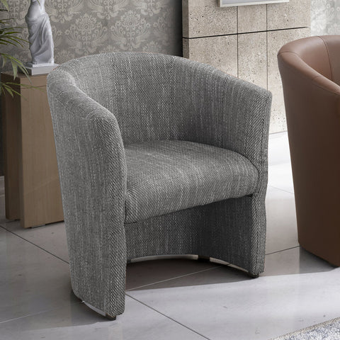 BONNY - GREY Modern Armchair For Your Living Room - FAST DELIVERY
