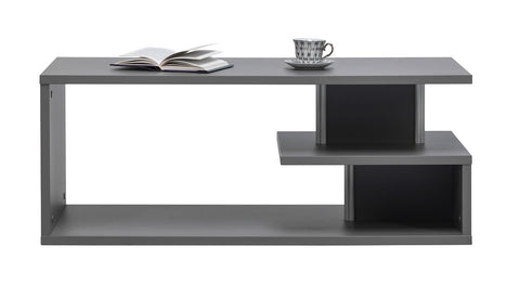SOPHIA - Modern Table with Shelves and Unique Design. Suitable for every room >115x56cm<