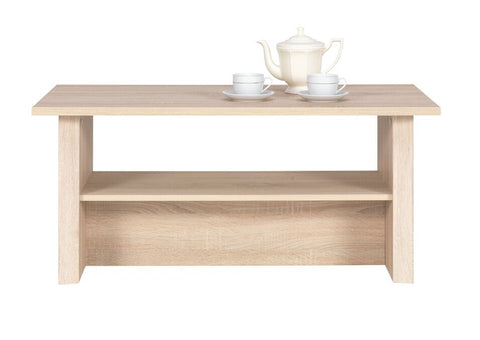 WALTZ I - Modern Table with a Shelf and Lovely Design. Suitable for every room. >110x60cm<