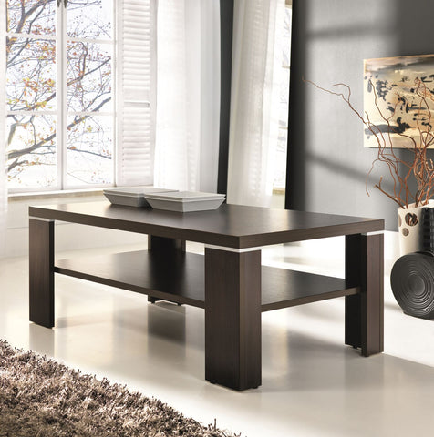 ABBY - Modern Table with a Shelf and Classy Design. Suitable for every room. >109x68cm<
