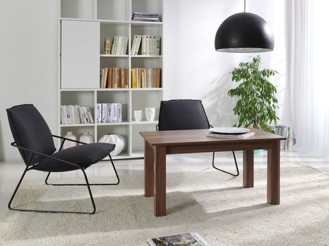 LORA 6A - Modern table with simple aesthetics. Designed to suit every interior. Wallis Plum >102x62cm<