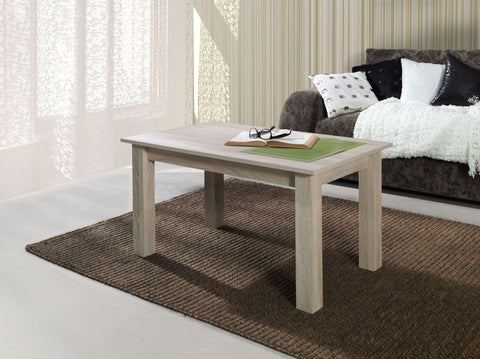 LORA 7A - Modern table with simple aesthetics. Designed to suit every interior. Sonoma Oak >102x62cm<
