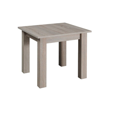 LORA 8A - Modern table with simple aesthetics. Designed to suit every interior. Sonoma Oak >62x62cm<