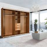 ELLE - Extra large Wardrobe With Mirror >255cm<