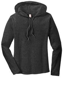 Ladies Long Sleeve Hooded TShirt (887L) - Mill