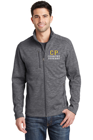 Digi-Stripe Fleece Jacket (F231) - Country Parkway