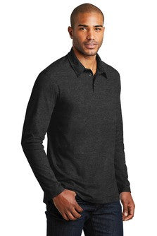 Long Sleeve Meridian Blend Polo (K577LS) - UBNS