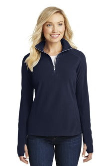 Ladies 1/2 Zip Microfleece (L224) - SMSD