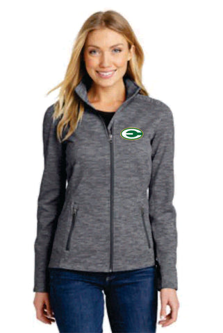 Ladies Digi-Stripe Fleece Jacket (L231) - WSE
