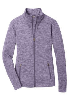 Ladies Digi-Stripe Fleece Jacket (L231) - WTA