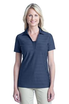 Ladies Horizontal Texture Polo - (L514) - UBNS