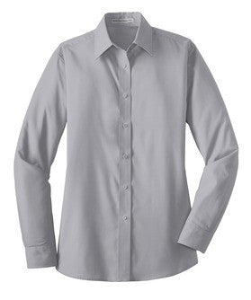 Ladies Long Sleeve Poplin Shirt (L632) - WTA