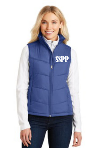 Ladies Puffy Vest - (L709) - SSPP