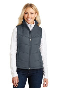 SALE !!!  Ladies Puffy Vest - (L709) - UBNS