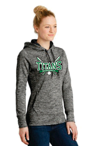 Ladies Posicharge Hooded Fleece (LST225) - Titans